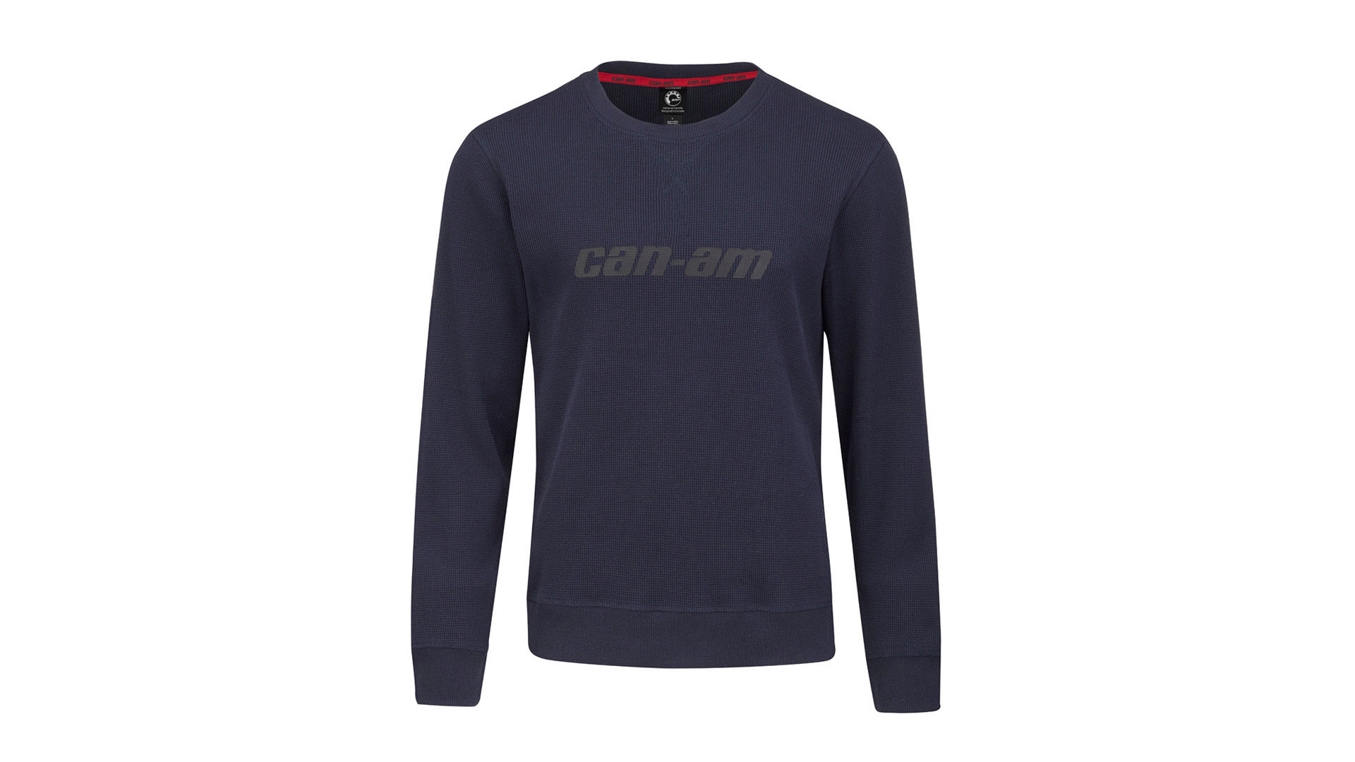PULL COL ROND TEXTURÉ MANCHES LONGUES